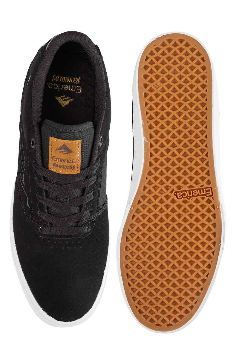 Emerica The Reynolds Low Vulc Schuh (black brown)