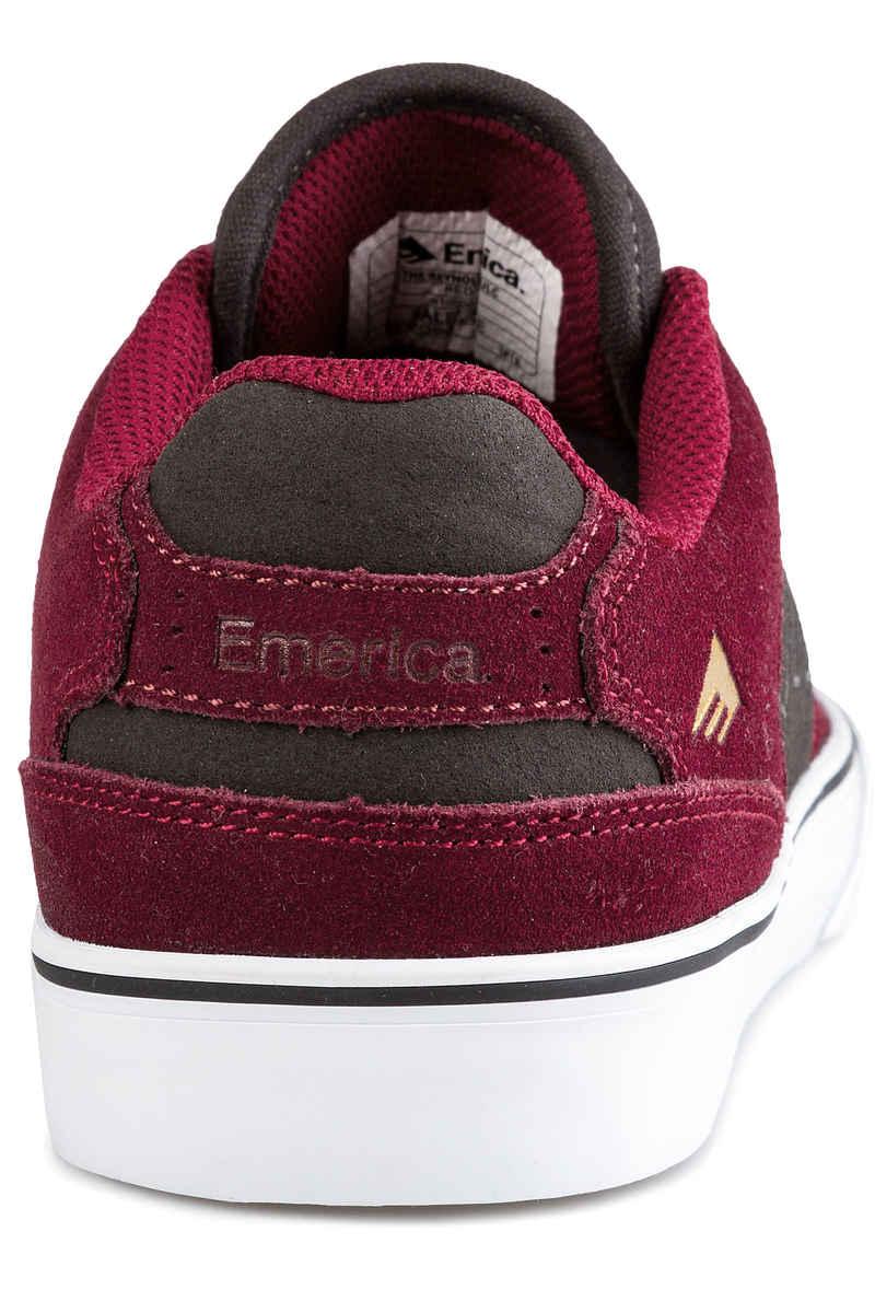 Emerica The Reynolds Low Vulc Schuh (red grey)