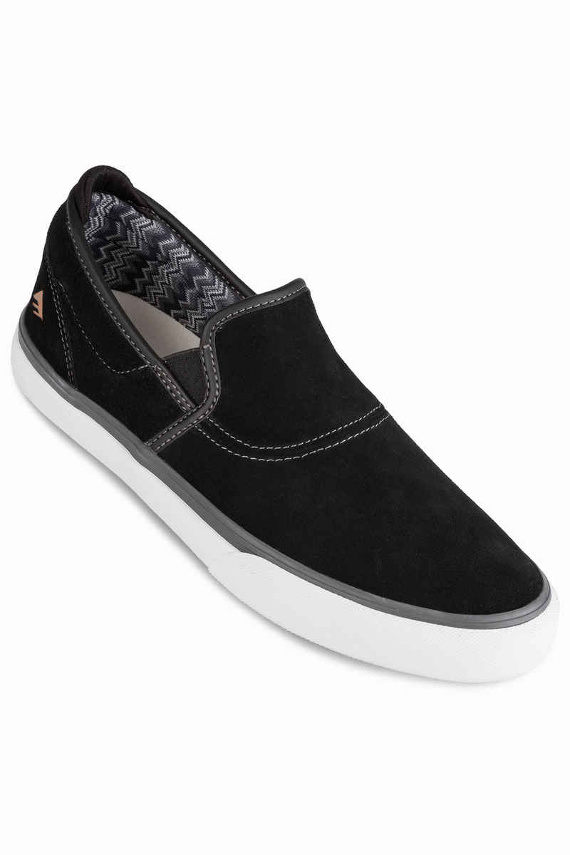 Emerica Wino G6 Slip-On Chaussure (black grey white)