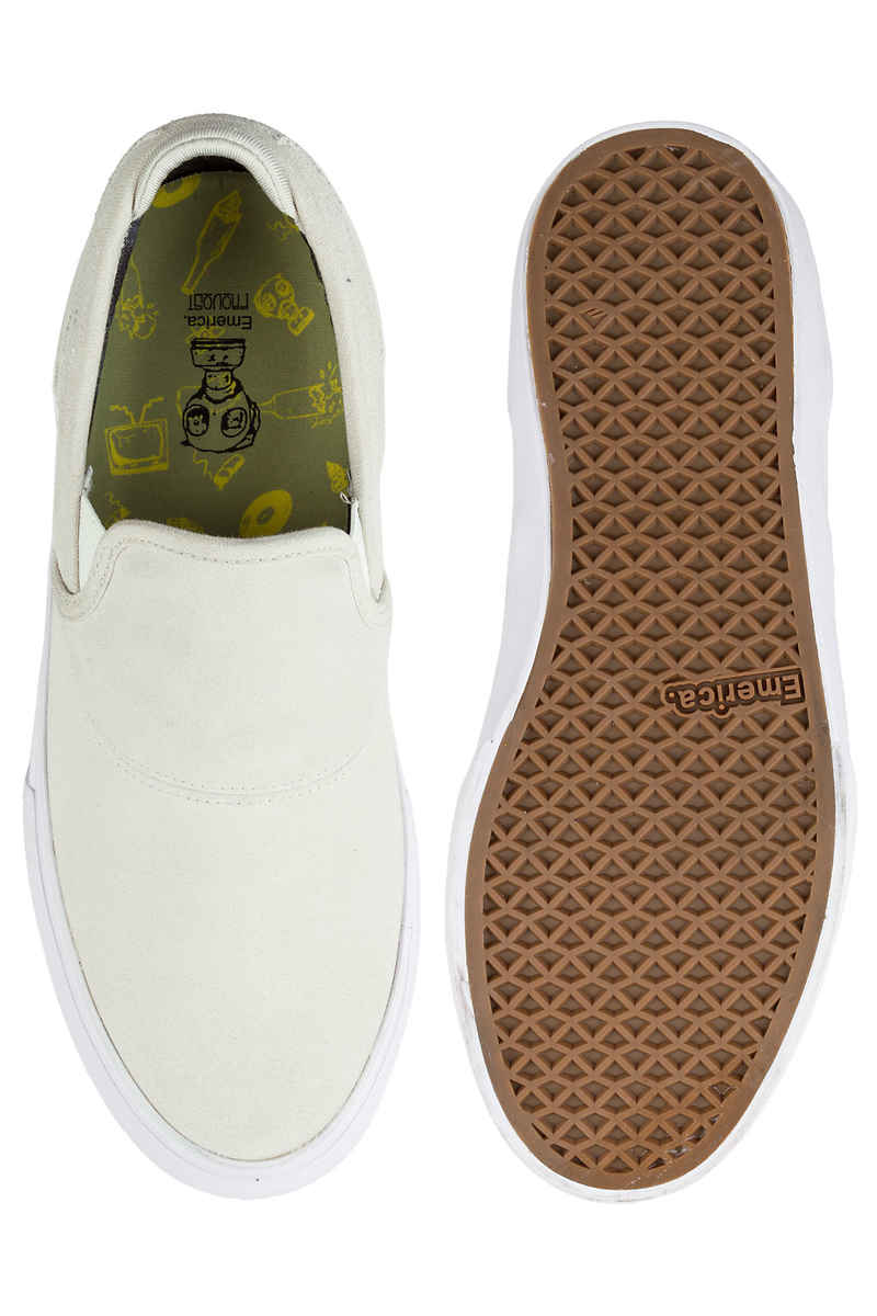 Emerica Wino G6 Slip-On Chaussure (white white)