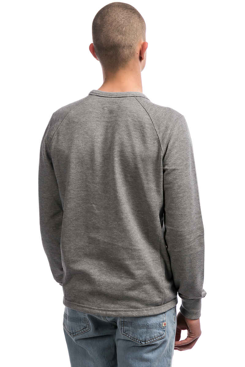 Champion C Logo Sweatshirt (dark grey melange)