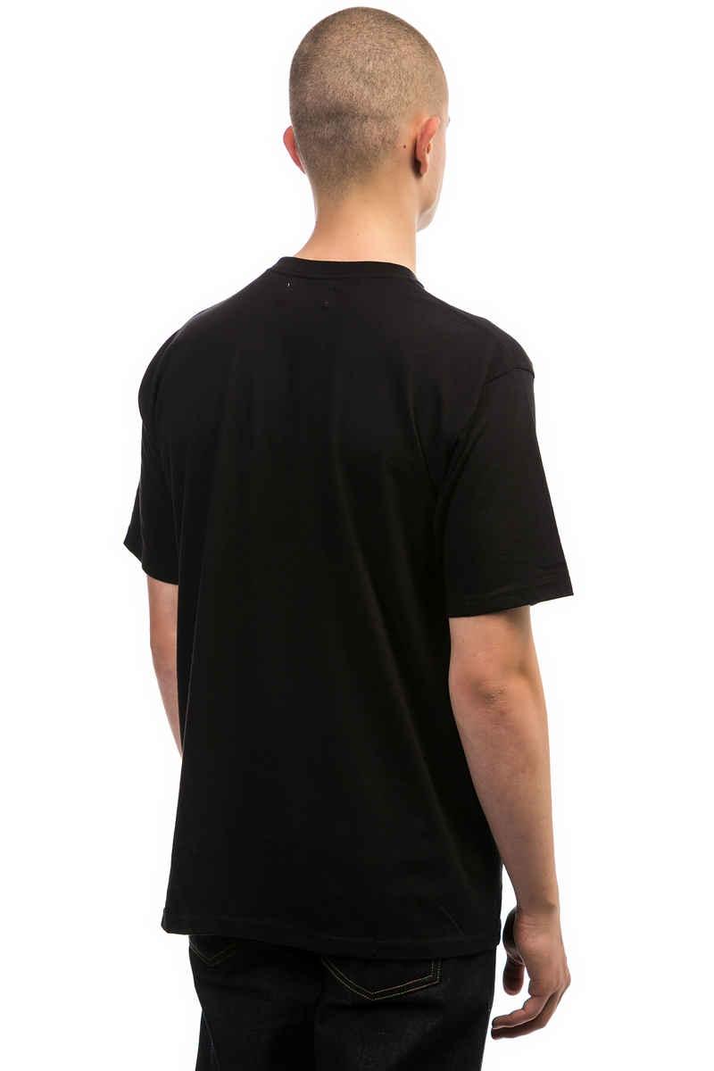 Sour Skateboards Army Emb Camiseta (black white)