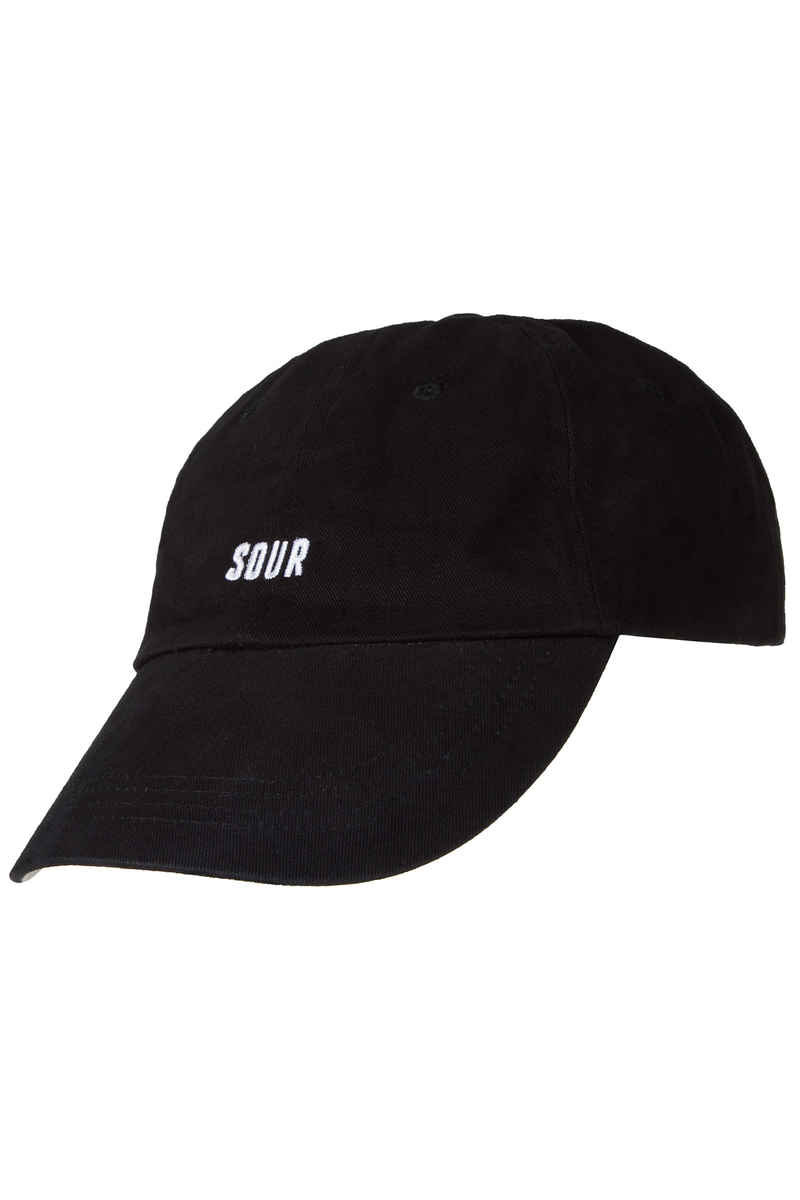 Sour Skateboards Army Amb 6 Panel Cap (black white)