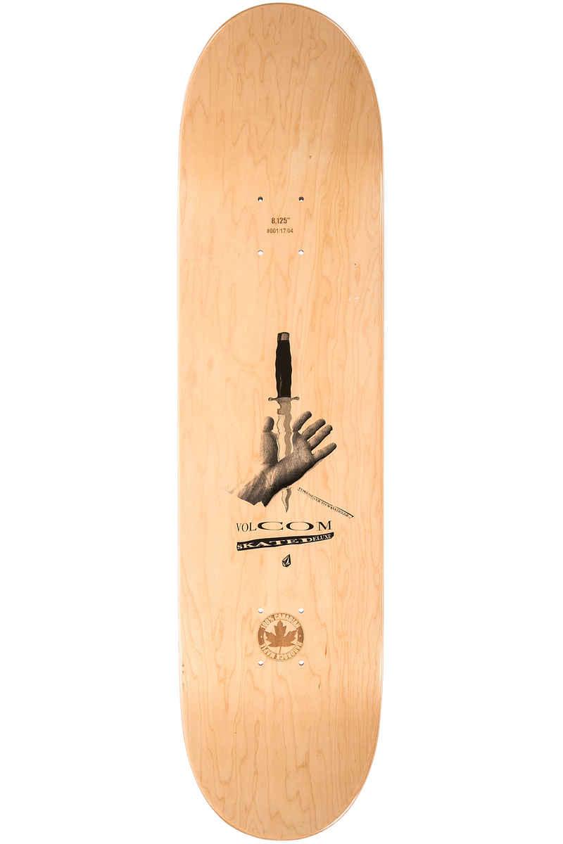 "SK8DLX x Volcom Collab 8.125"" Planche Skate (black)"