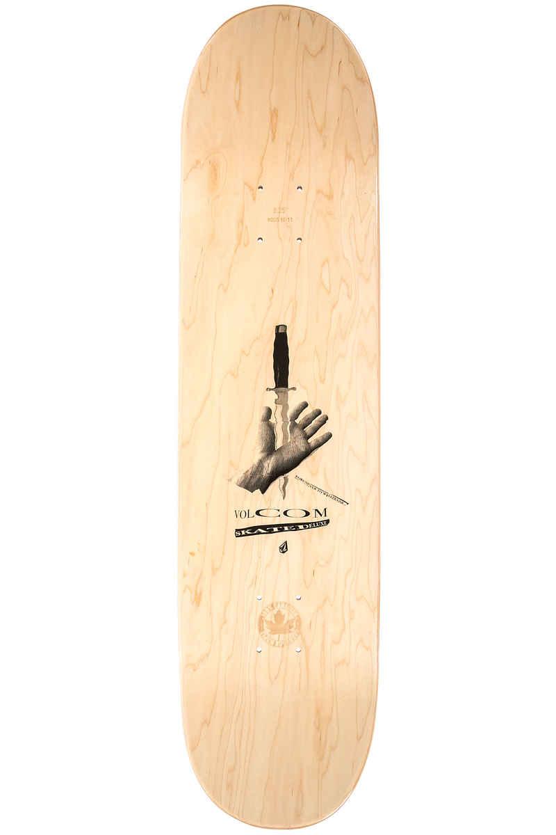 "SK8DLX x Volcom Collab 8.25"" Planche Skate (black)"