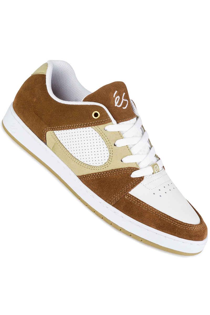 éS Accel Slim Schuh  (brown tan white)
