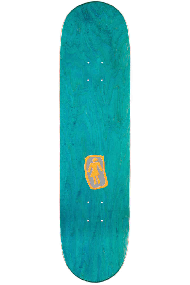 "Girl Kennedy Marmot 8.375"" Deck (multi)"