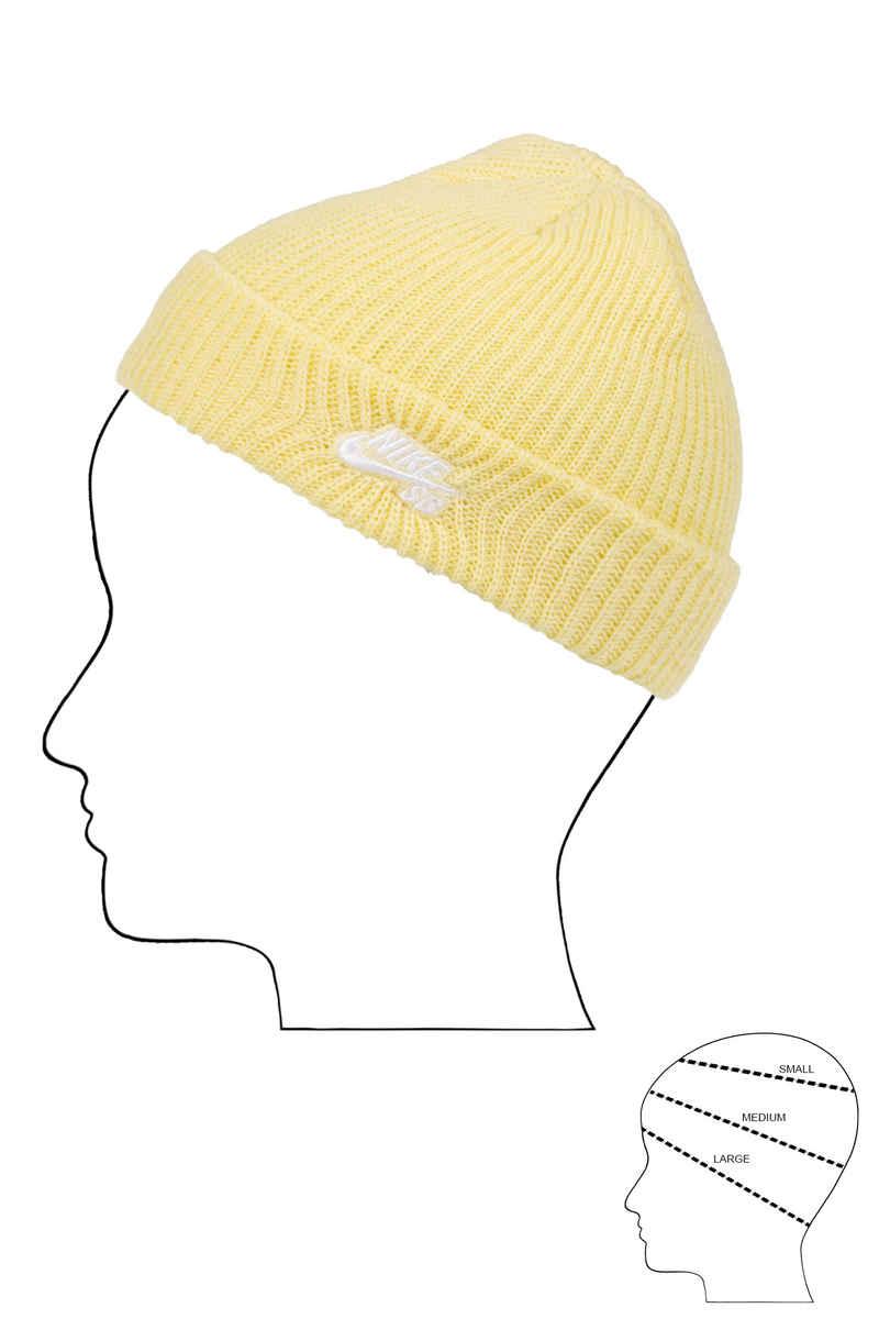 Nike SB Fisherman Mütze (lemon wash white)