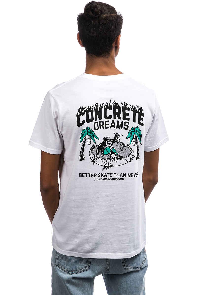 Globe Concrete Dreams T-Shirt (white)