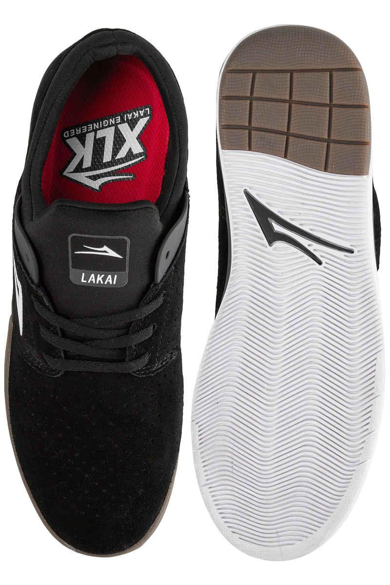 Lakai Fremont Suede Shoes (black grey)