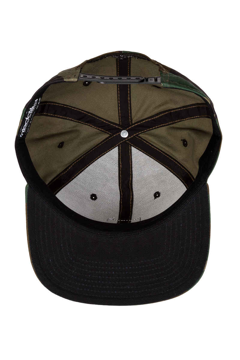 Iriedaily Daily Flag Snapback Pet (camou olive)
