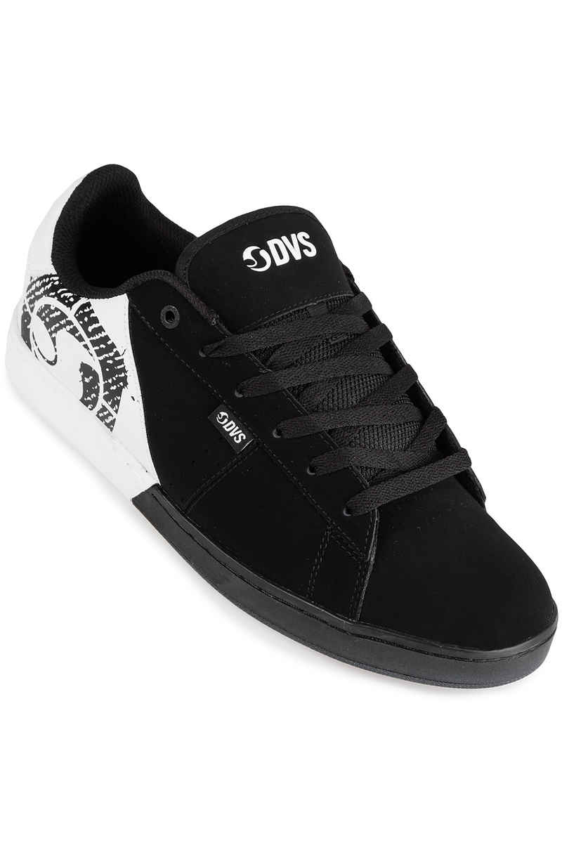 DVS Revival Split Leather Shoes (black white)
