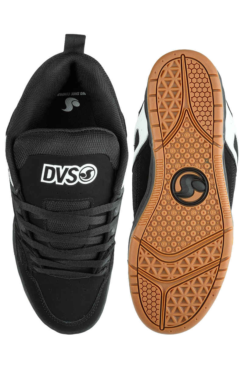 DVS Comanche Schoen (black white nubuck)