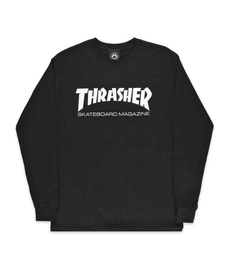 Thrasher Skate Mag Longsleeve (black)