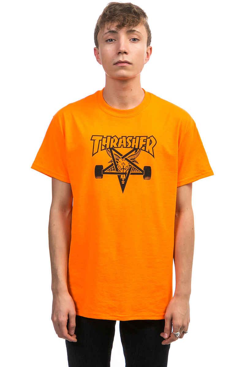Thrasher Skategoat T-Shirt (safety orange)