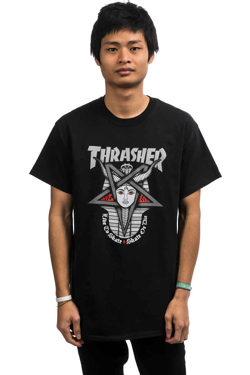 Thrasher Goddess T-Shirt (black)