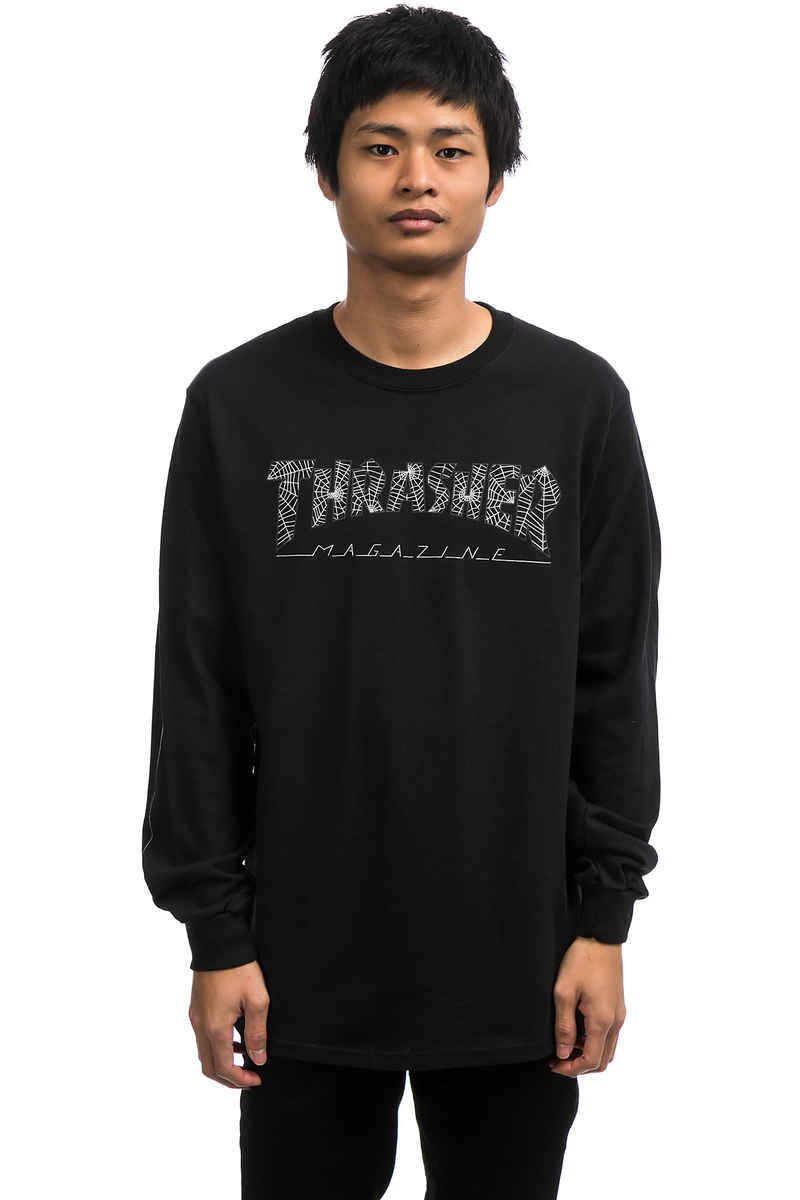 Thrasher Web Longues Manches (black)