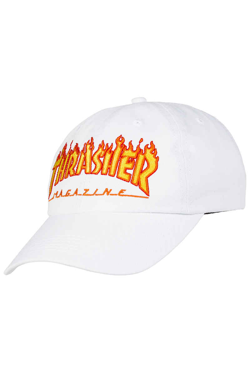 Thrasher Flame Old Timer Casquette (white)