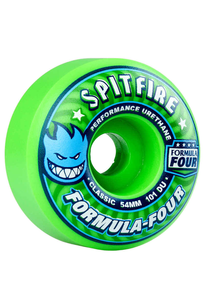 Spitfire Formula Four Gang Green Classic Wiel (green) 54mm 101A 4 Pack