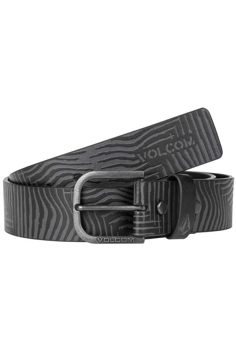 Volcom Empty PU Cinturón (black grey)