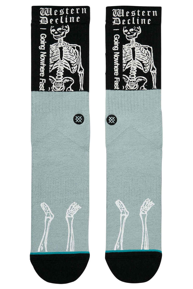 stance skate decline chaussettes us 6 12 black achetez sur skatedeluxe. Black Bedroom Furniture Sets. Home Design Ideas