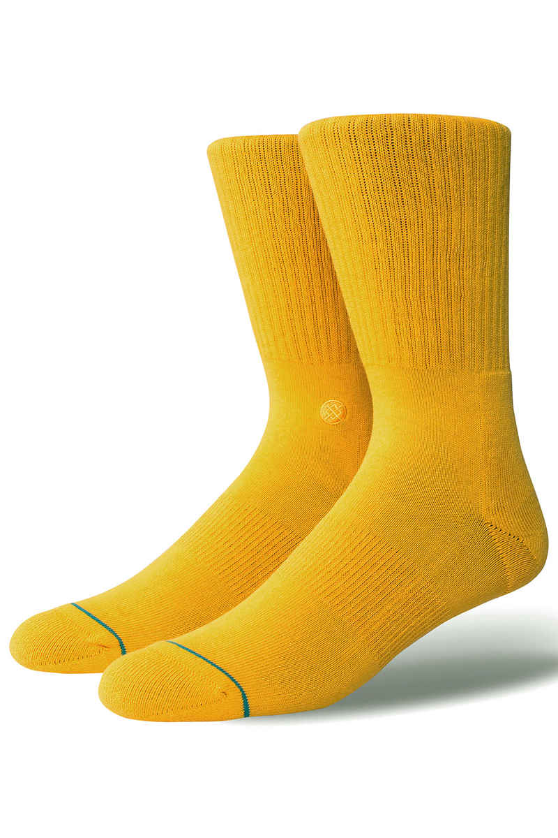 Stance Icon Chaussettes US 6-12 (gold)