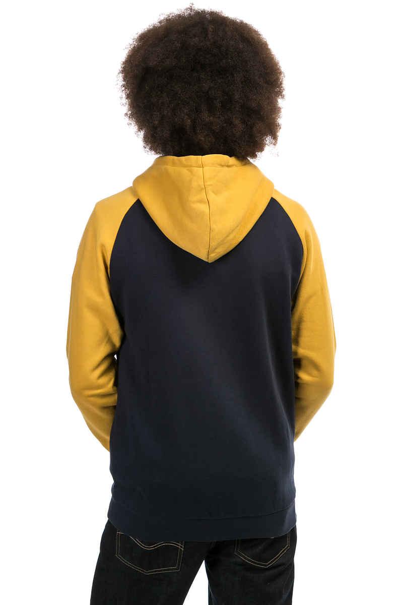 Iriedaily De College Zip-Sweatshirt avec capuchon (mustard)