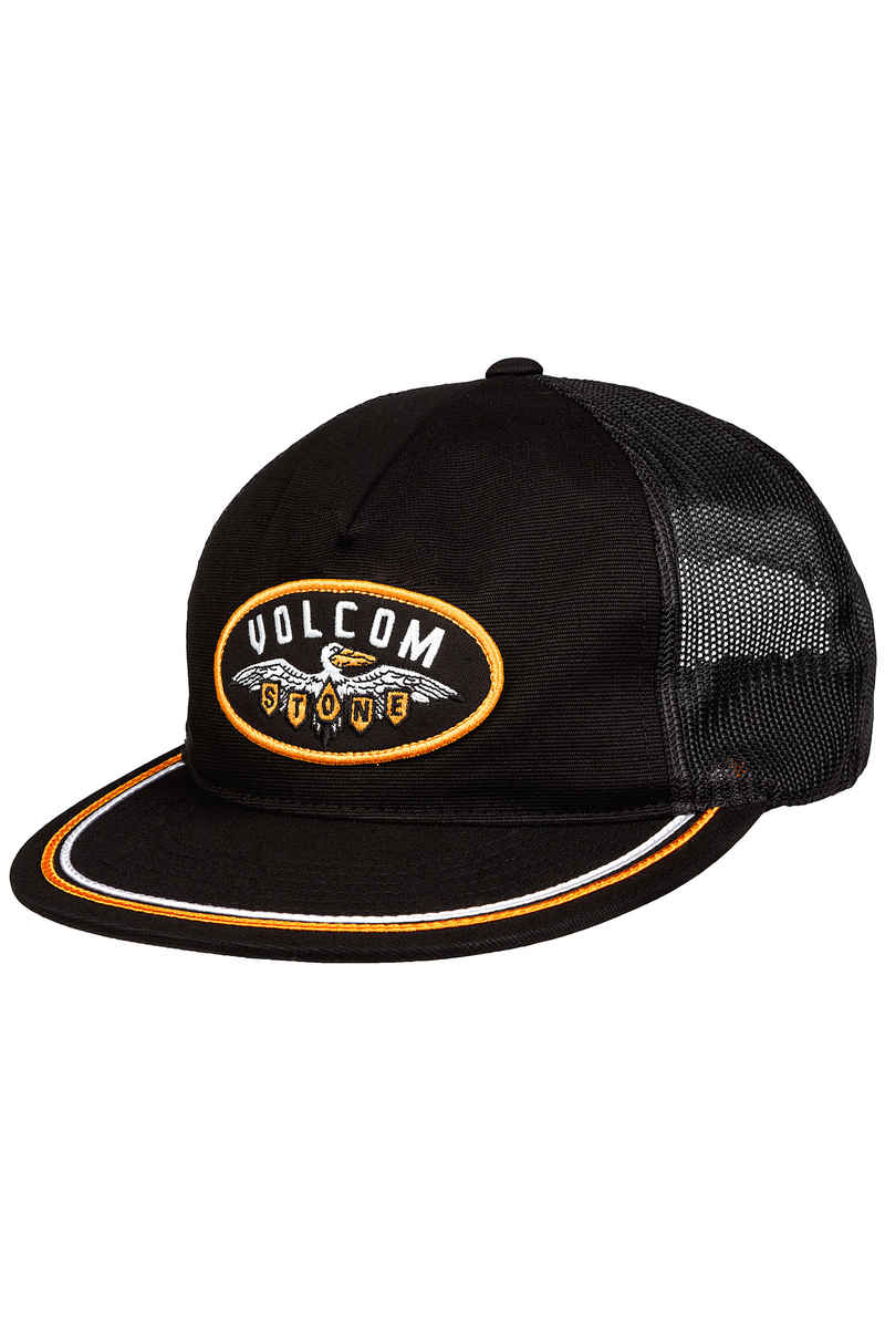 Volcom Hellican Cheese Snapback Casquette (black)