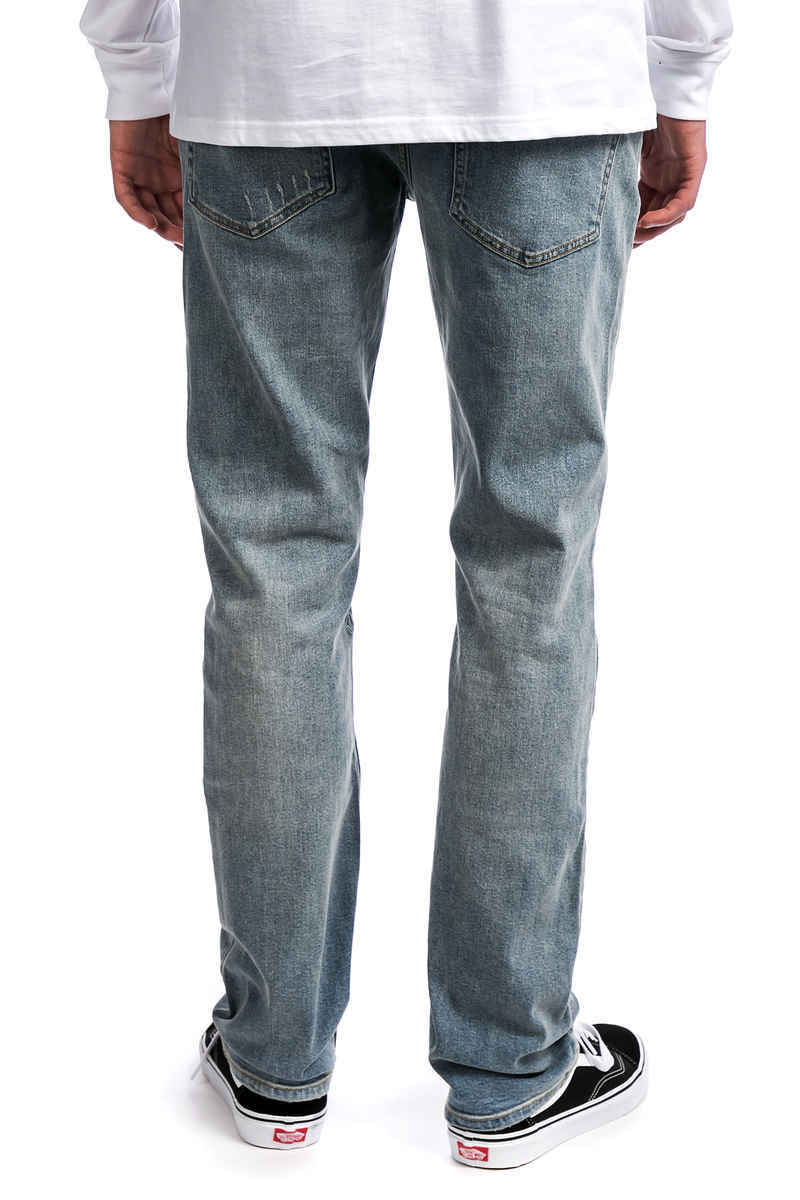 Volcom Solver Jeans  (angled bleach wash)