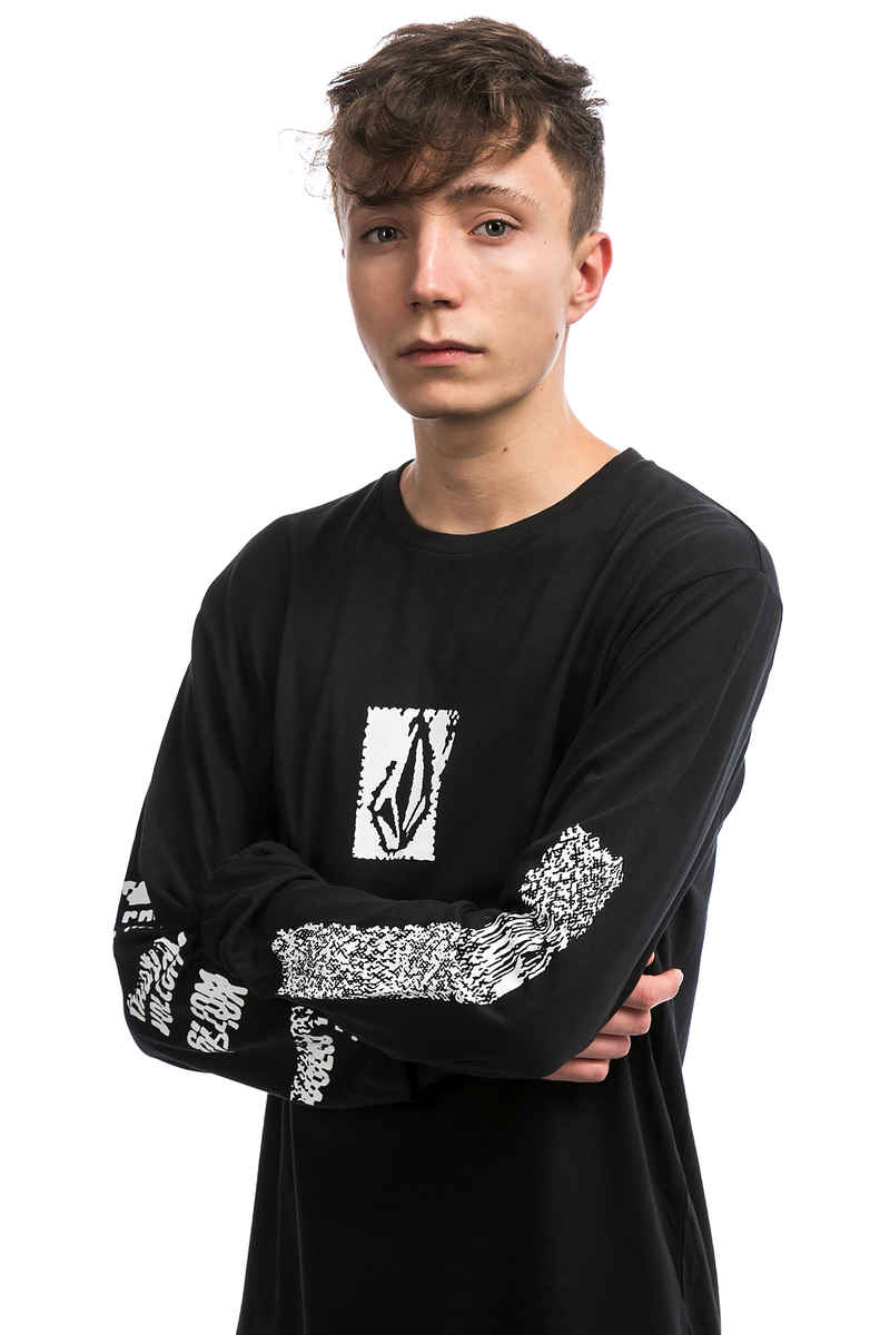 Volcom Pixel Stone Camiseta de manga larga (black)