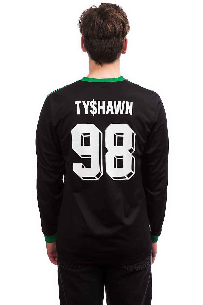 adidas Skateboarding Tyshawn Jones Jersey Longues Manches (black)