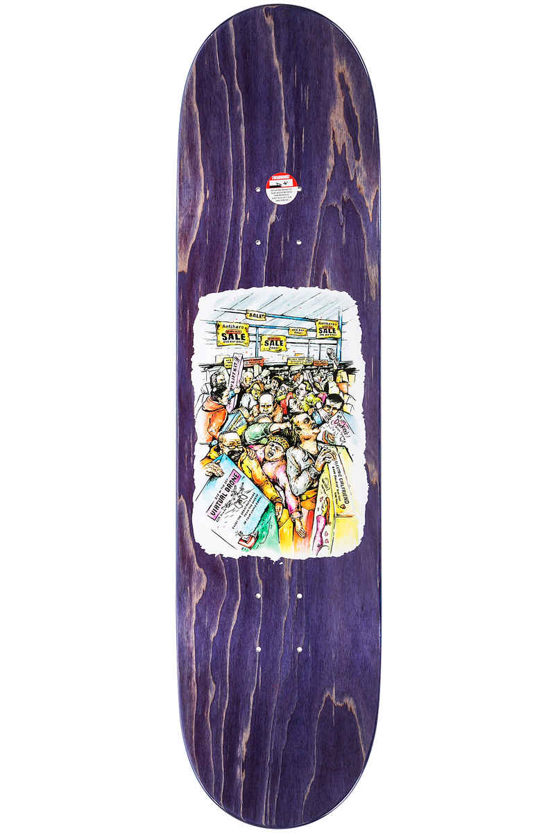"Anti Hero Van Der Linden Mall Grab 8.12"" Deck (multi)"