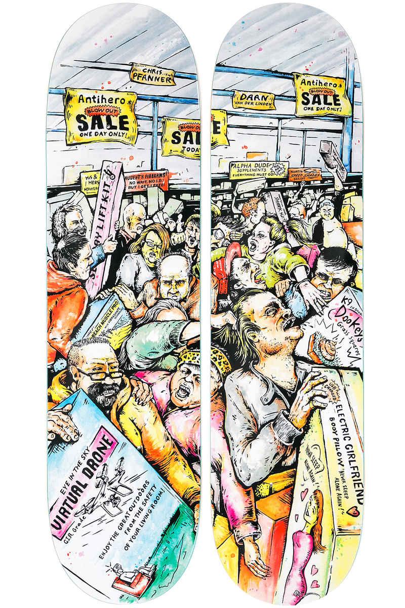 "Anti Hero Pfanner Mall Grab 8.38"" Deck (multi)"