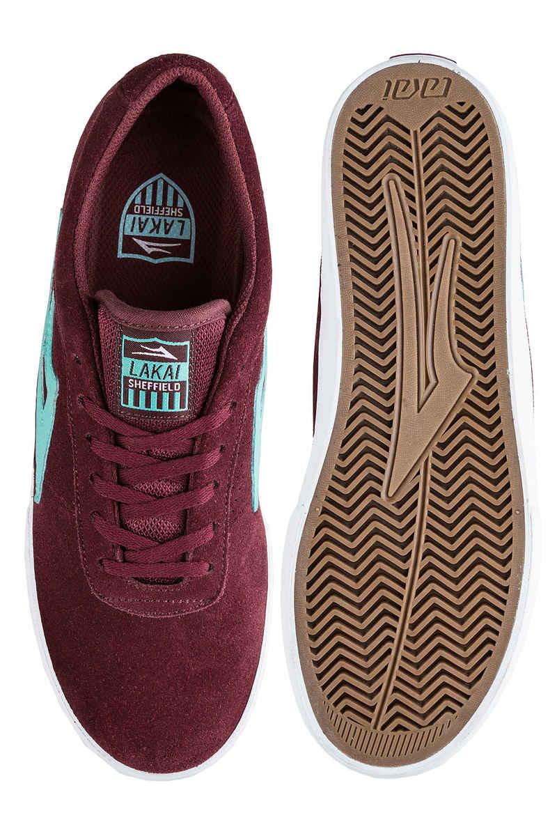 Lakai Sheffield Suede Chaussure (burgundy)