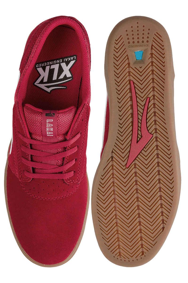 Lakai Griffin XLK Suede Schuh (red gum)