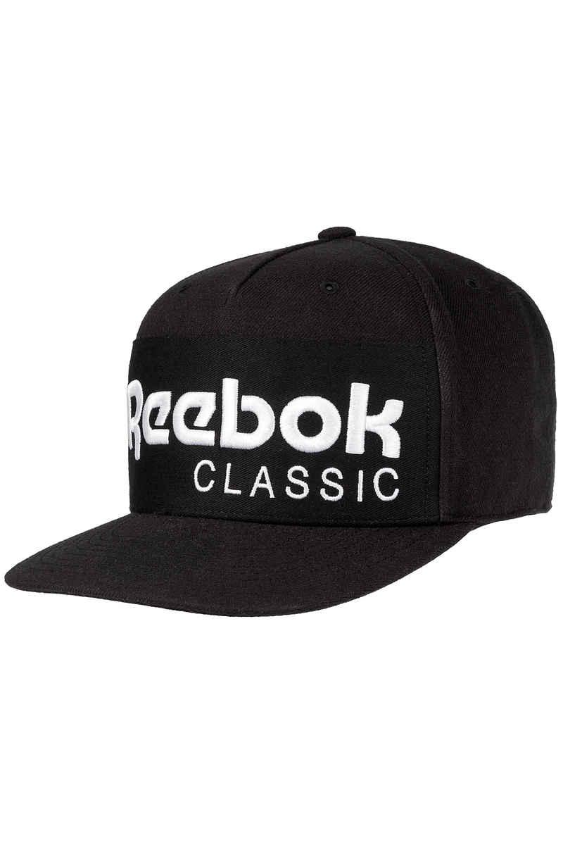 Reebok Classics Foundations Snapback Cap (black white) buy at ... ec60633b00c
