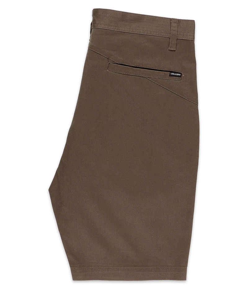 Volcom Frickin Modern Stretch Shorts (mushroom)