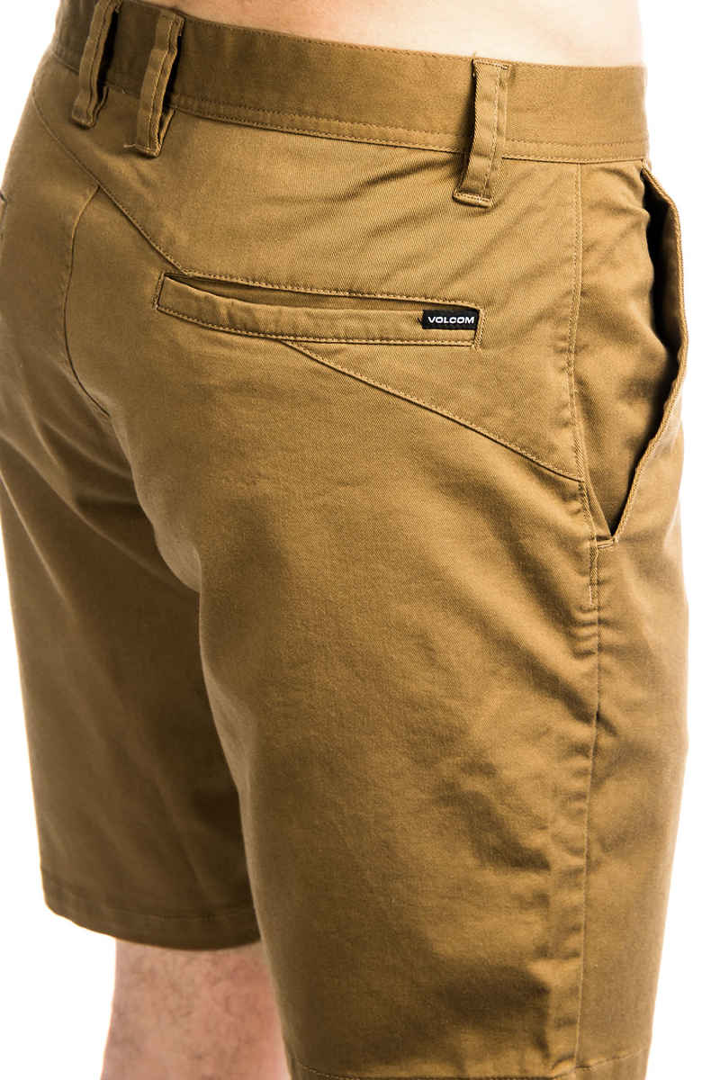Volcom Frickin Modern Stretch 19 Shorts (camel)