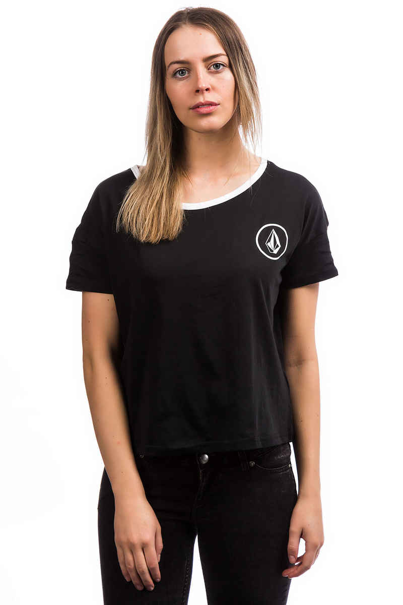 Volcom Simply Stoned T-Shirt women (black grey)