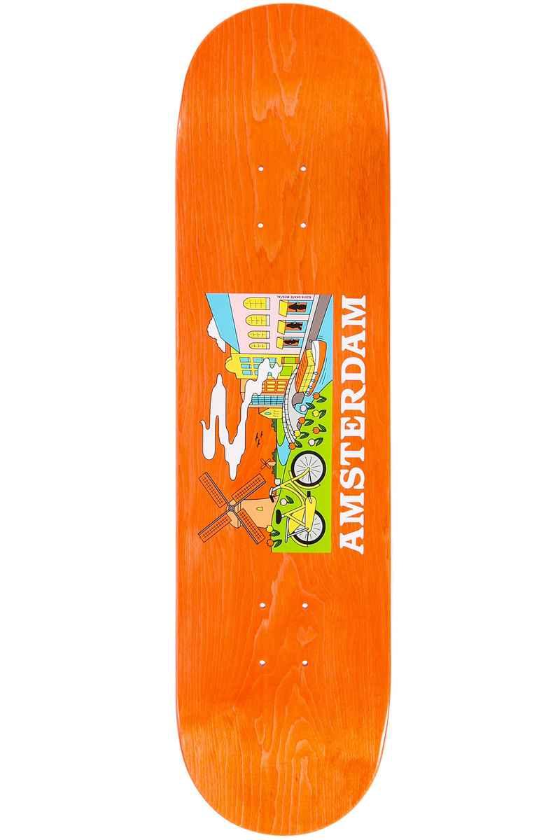 "Skate Mental Amsterdam Tourist 8.25"" Deck (orange)"