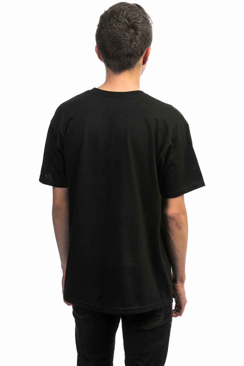 Skate Mental Script Logo T-Shirt (black)
