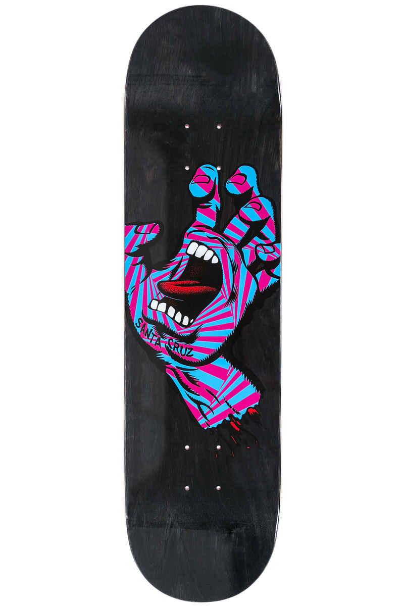 "Santa Cruz Screaming Party Hand 8.25"" Deck (black)"