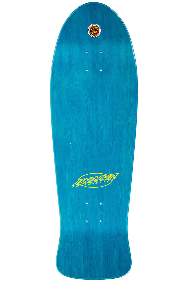 "Santa Cruz Neon Slasher 10"" Deck (matte stain black)"