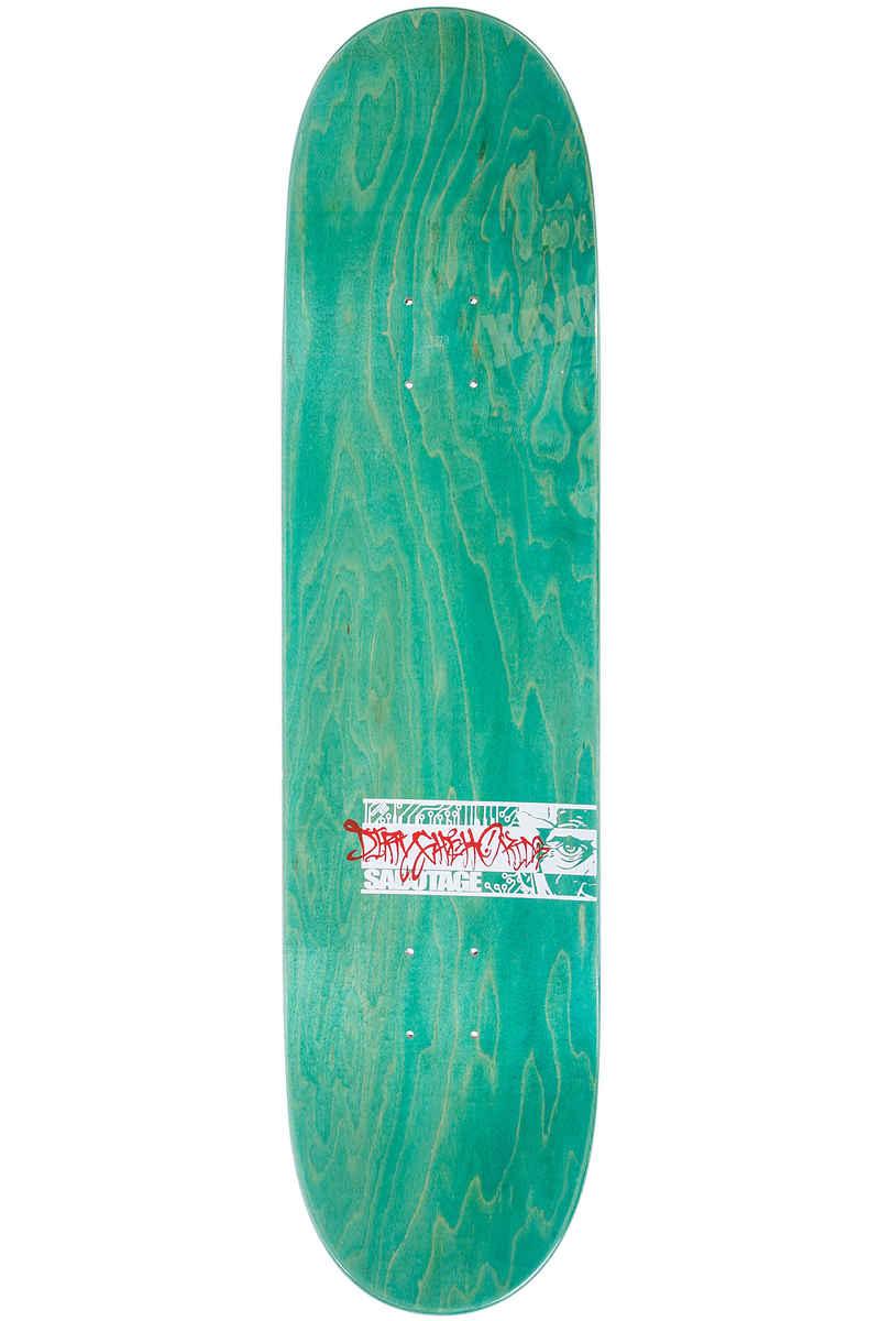 "DGK Skateboards x Sabotage R.I.P. 8.06"" Deck (red)"