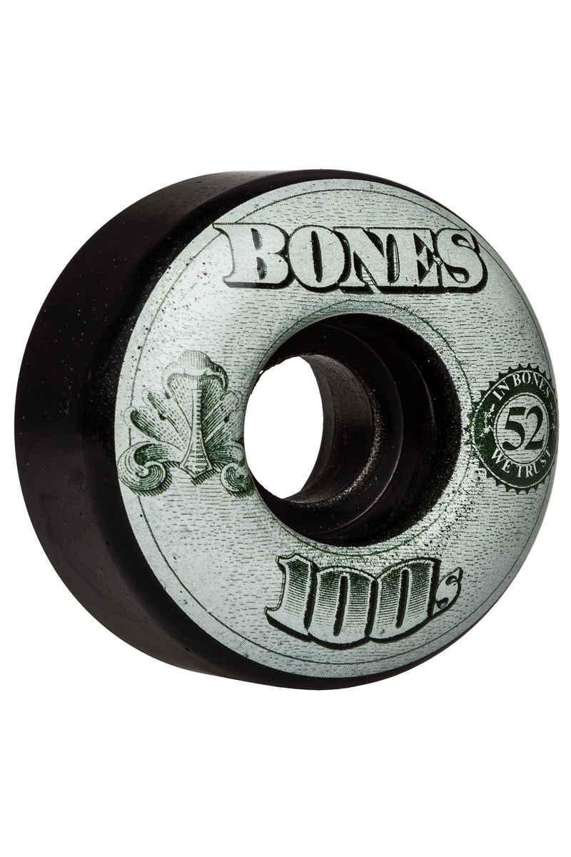 Bones 100's-OG #16 Wheels (black) 52mm 100A 4 Pack