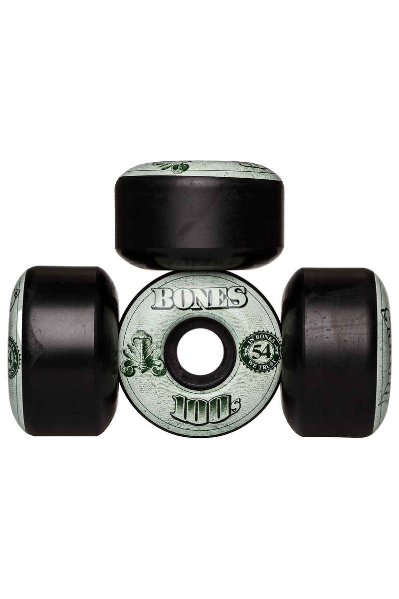 Bones 100's-OG #16 Wheels (black) 54mm 100A 4 Pack