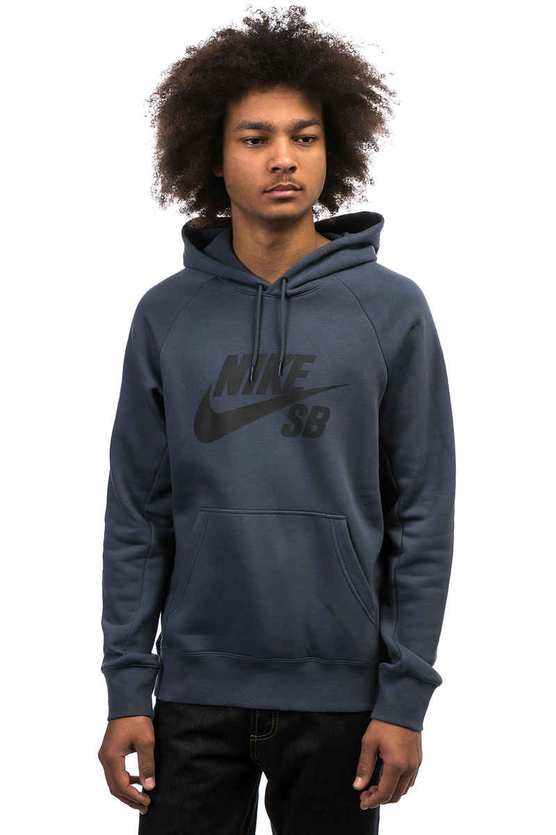 Nike SB Icon sweat à capuche (thunder blue black)