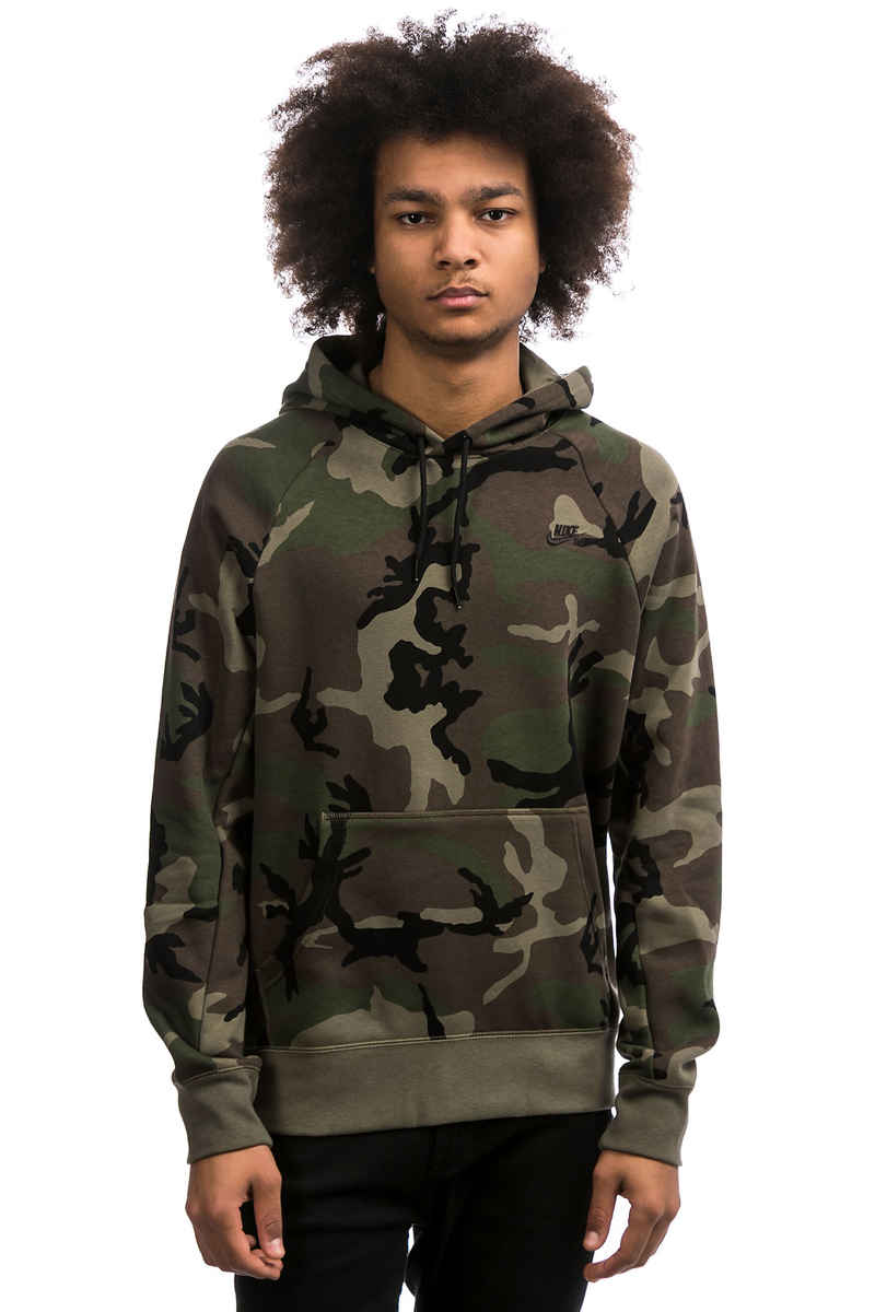 Nike SB Icon Hoodie (medium olive black)