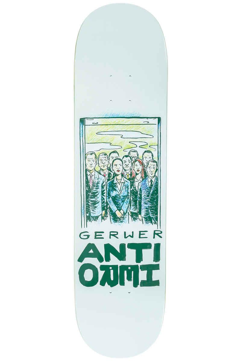 "Anti Hero Gerwer Overcrowding 8.06"" Deck (beige)"