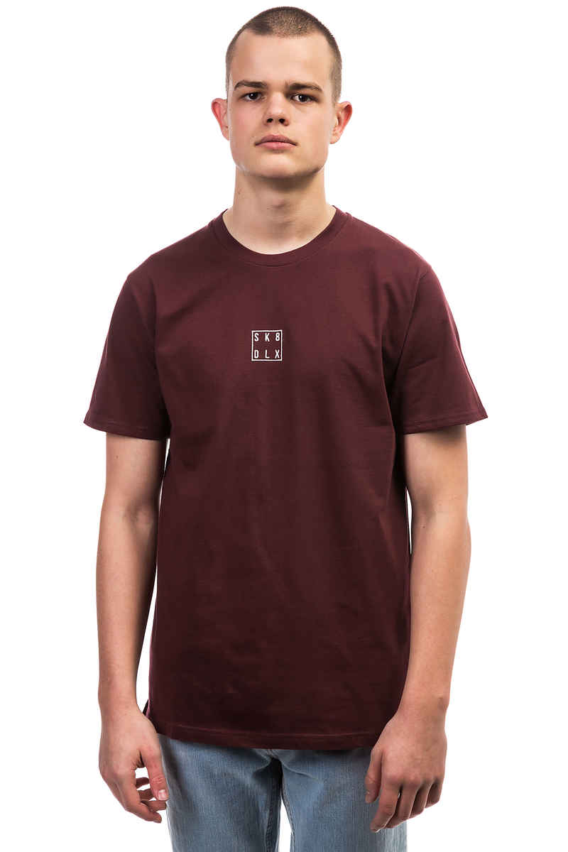 SK8DLX Square T-Shirt (aubergine)